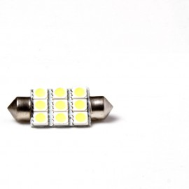 9 LED Canbus Kentekenverlichting 36mm
