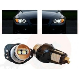 SMD Led wit Angel Eyes Lamp BMW E90 - E91